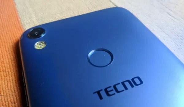 TECNO Camon CM Photos rear camera