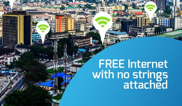 City Connect is one of the free WiFi hotspots in Lagos