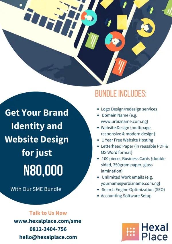 HexalPlace Flyer Design