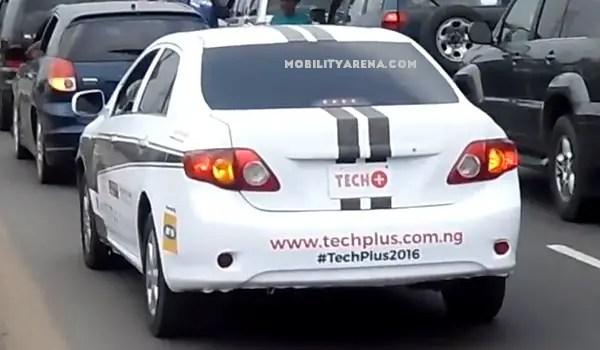 techplus2016 Self-driving car in Lagos