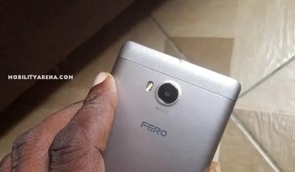 Fero A5002 Review back camera