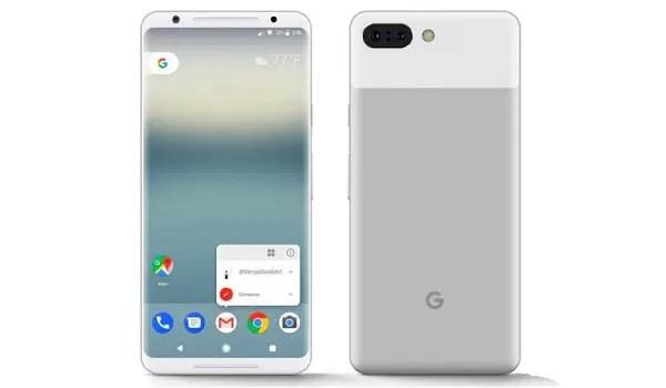 Google Pixel 2 XL white