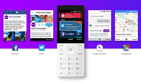 KaiOS ends smartphone-monopoly on apps