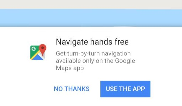 Maps Go Review - Navigate hands free