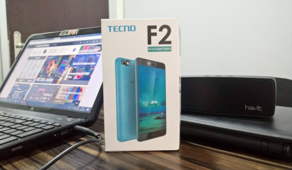 Tecno f2 review box