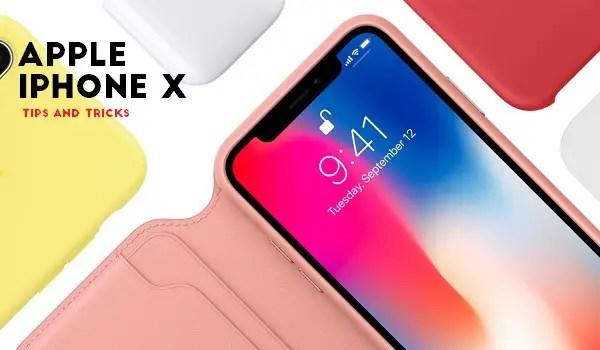 apple iphone x tips tricks
