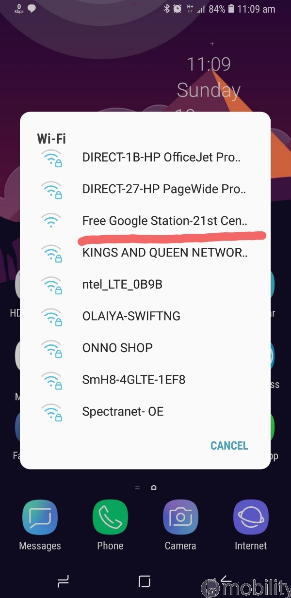Google Station Free Wifi part 1