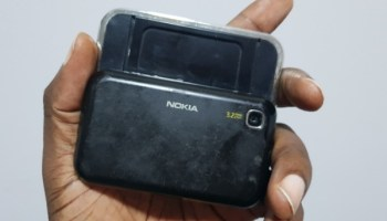Nokia 6760 Slide - back