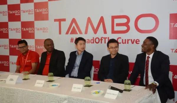 tambo phones Nigeria launch