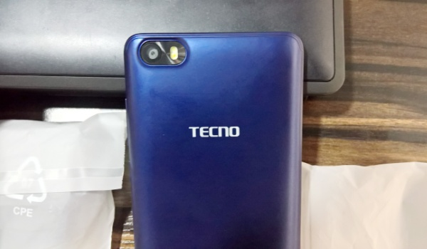 tecno f2 review rear camera