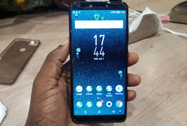 Infinix Hot 6 Pro review front
