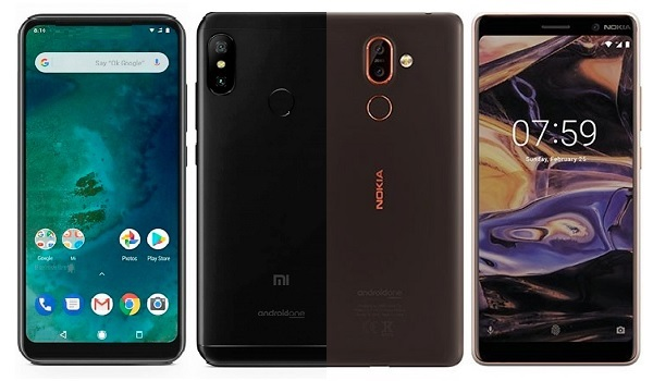 Xiaomi Mi A2 vs Nokia 7 Plus