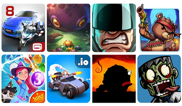 mobile gaming phones and apps