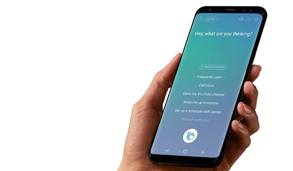 Using Bixby Voice