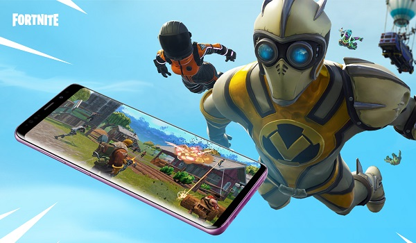 Install Fortnite for Android on samsung phone