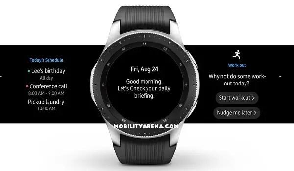 Samsung Galaxy Watch specs