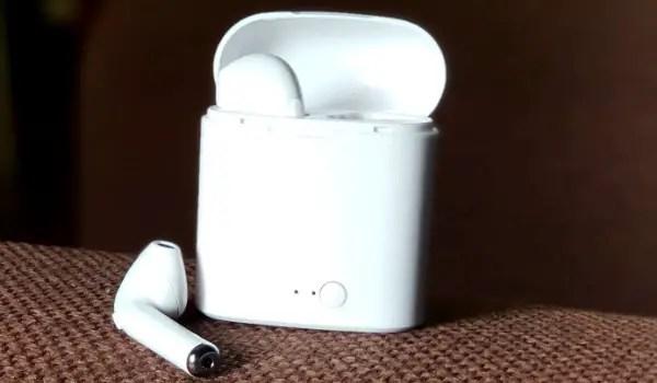 TWS i7S earphones review 3