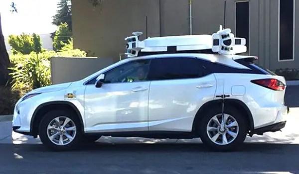 Apple Autonomous test car