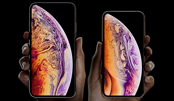 iphone XS and iPhone XS max