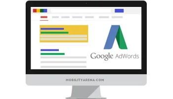 Google AdWords desktop