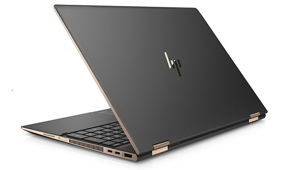 HP Spectre x360 15 2018 back cover