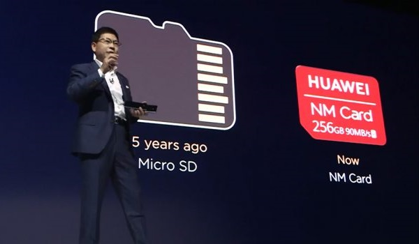 Huawei Mate 20 Pro nano memory card