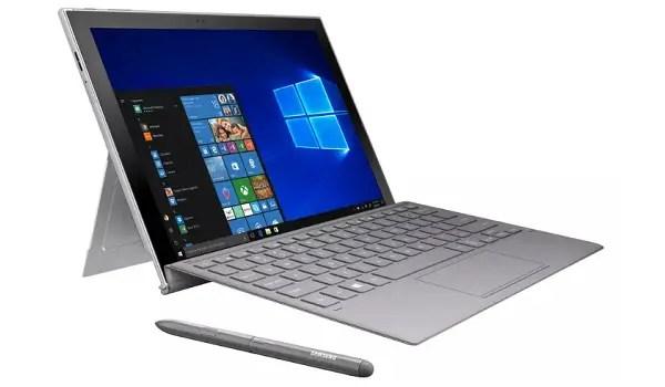 Samsung Galaxy Book 2 aka Samsung Galaxy Book 2018 specs laptop mode