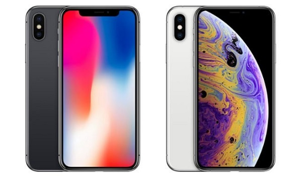 apple iPhone X vs iPhone XS