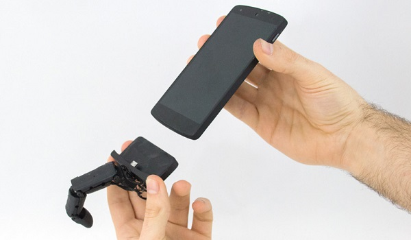 mobilimb robotic finger attachment base