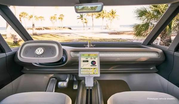 Volkswagen ID Buzz interior / VW ID Buzz interior