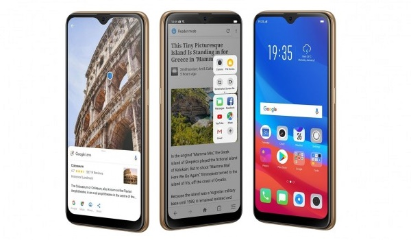 oppo a7 2018 with Hyper Boost