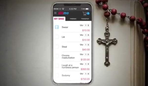 Sin more with sinmo app: pay the wages of sin in cash