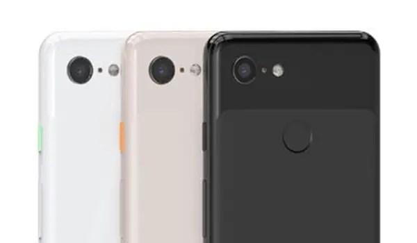 Google Pixel 3 camera with top shot