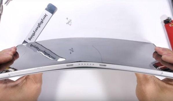 Bent iPad Pro