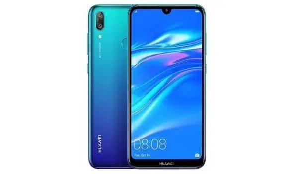 Huawei Y7 Prime 2019 blue 1