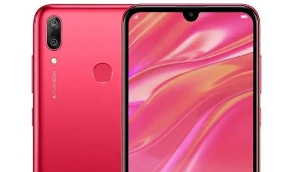 Huawei Y7 Prime 2019 red