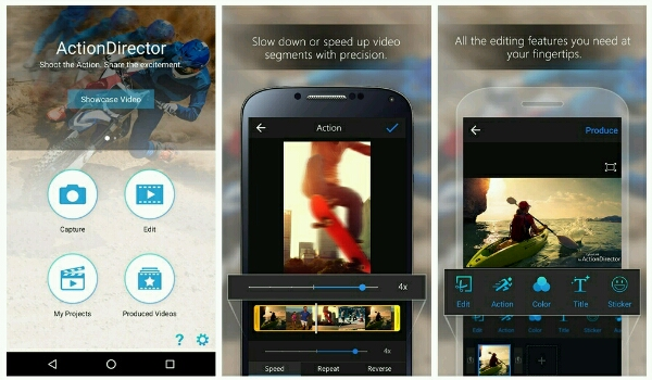 best free video editing applications - Action Director