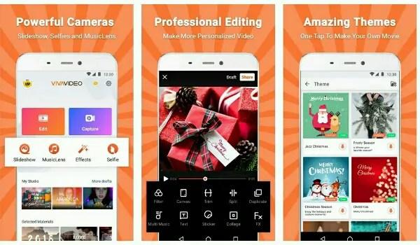 best free video editing applications - Viva Video