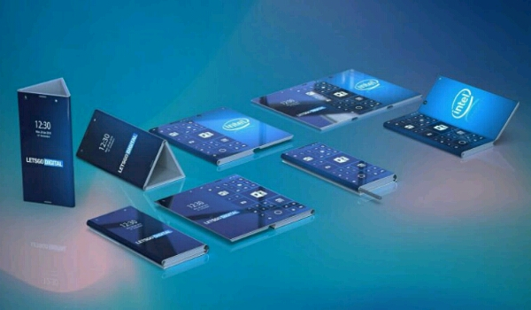 Intel Foldable Phone patent