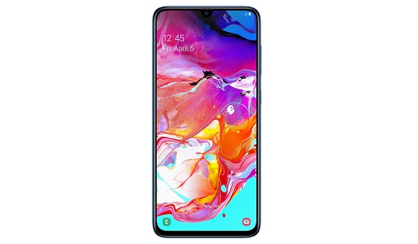 Samsung Galaxy A70 with Infinity-U notch