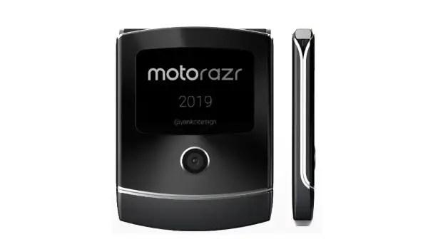 Motorola RAZR 2019 foldable flip phone