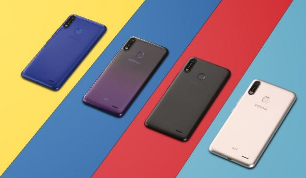 Infinix Hot 7 in 4 colours