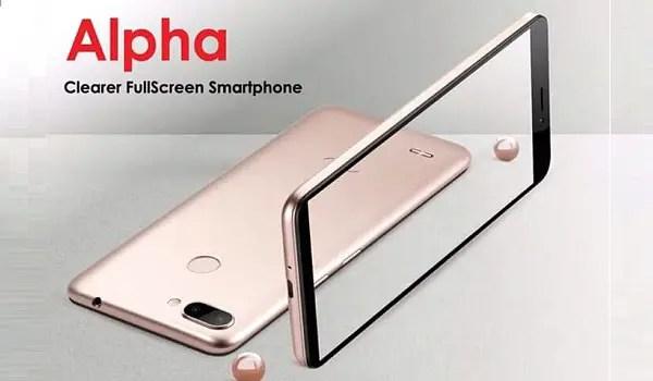 itel alpha smartphone