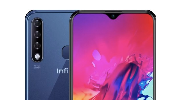 Infinix Smart 3 Plus selfie and rear cameras