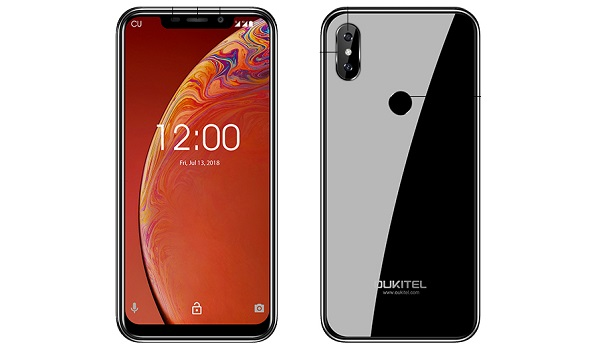 OUKITEL C13 Pro front and back