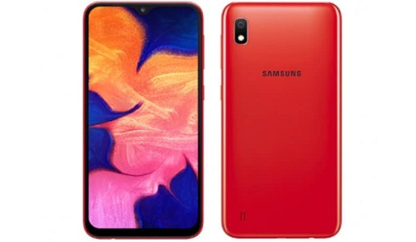 Samsung Galaxy A10 red