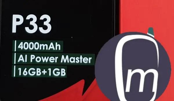 itel p33 power phone