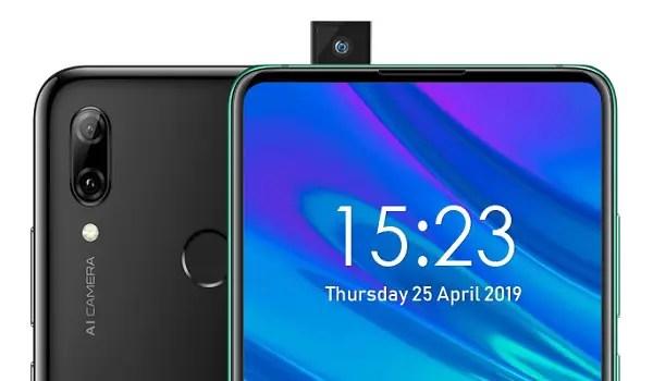 Huawei P Smart Z pop-up camera