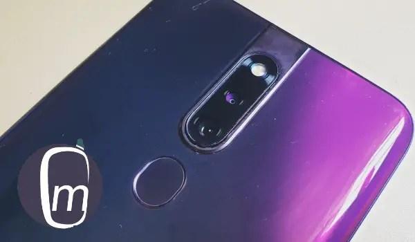 Oppo f11 pro fingerprint sensor and camera