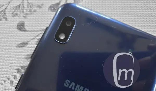Samsung Galaxy a10 2019 rear camera